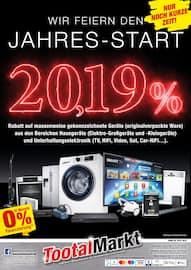 Aktueller Tootal Markt Prospekt, Wir feiern den Jahres-Start 20,19%, Seite 1
