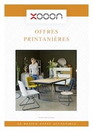 Catalogue Xooon en cours, Offres printanières , Page 1