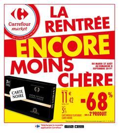 Catalogue Carrefour Market en cours, La rentrée encore moins chère, Page 1