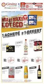 Catalogue Casino Supermarchés en cours, Maxi lot, maxi éco, Page 8