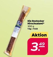 Wurst von Die Rostocker im aktuellen NETTO mit dem Scottie Prospekt für 3.49€