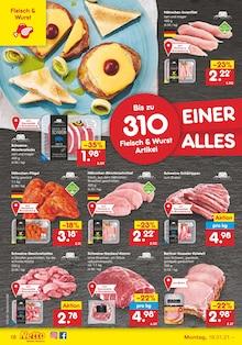 Wurst im Netto Marken-Discount Prospekt EINER FÜR ALLES. ALLES FÜR GÜNSTIG. auf S. 17
