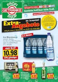 Aktueller Profi Getränke Prospekt, Getränke holt man beim Profi., Seite 1