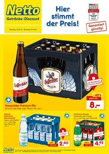 Netto Getränke-Markt - Hier stimmt der Preis!