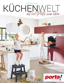 Aktueller porta Möbel Prospekt, Küchenwelt mit viel Platz zum Leben., Seite 1