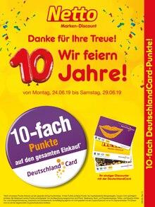 Netto Marken-Discount, 10-FACH DEUTSCHLANDCARD-PUNKTE! für Berlin