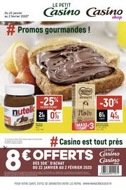 Catalogue Casino Shop en cours, # Promos gourmandes !, Page 1