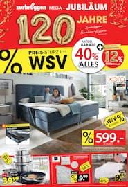 Aktueller Zurbrüggen Prospekt, Preis-Sturz im WSV!, Seite 1