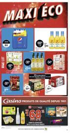 Catalogue Casino Supermarchés en cours, Maxi lot, maxi éco, Page 5
