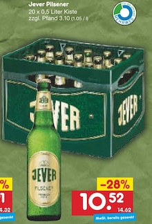 Bier im aktuellen Netto Marken-Discount Prospekt für 10.52€