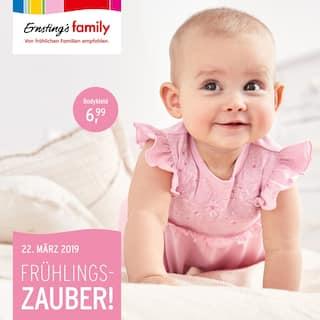 Aktueller Ernsting's family Prospekt, Frühlingszauber!, Seite 1