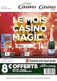 Catalogue Petit Casino en cours, Le mois Casino magic !!, Page 1