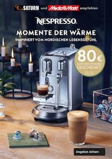 Nespresso Prospekt Momente der Wärme