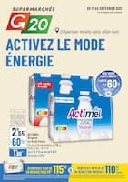 Catalogue G20 en cours, Activez le mode énergie , Page 1