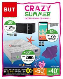 Catalogue But en cours, Crazy summer encore un océan de prix bas !, Page 1