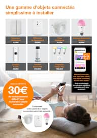 Catalogue Orange en cours, Maison Connectée, Page 3