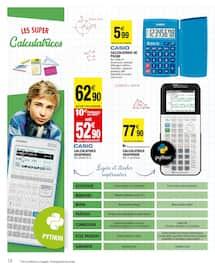 Catalogue Carrefour Market en cours, Les meilleurs cartables moins chers, Page 18