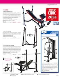 Catalogue Casal Sport en cours, Sports de combat & musculation, Page 47