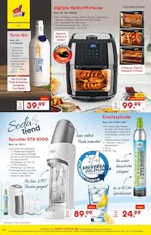 Heissluftfritteuse im Netto Marken-Discount Prospekt Heiße Angebote für kalte Tage! auf S. 11