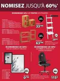 Catalogue Jysk en cours, Offres exceptionnelles : économisez jusqu'à 60%, Page 3