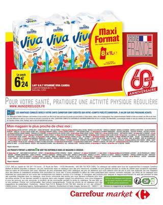 Catalogue Carrefour Market en cours, Dernières semaines encore moins chères !, Page 16