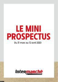 Catalogue Intermarché en cours, Le mini prospectus, Page 1
