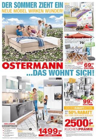 Aktueller Ostermann Prospekt, DER SOMMER ZIEHT EIN, Seite 1
