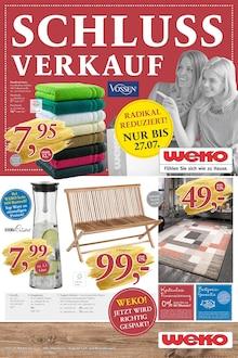 WEKO Wohnen - SCHLUSSVERKAUF