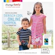 Aktueller Ernsting's family Prospekt, Tierisch Cool Online-Shoppen, Seite 1
