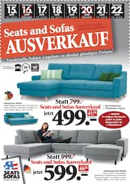 Aktueller Seats and Sofas Prospekt, Ausverkauf , Seite 1