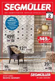 Aktueller Segmüller Prospekt, Segmüller - Ihr Teppich-Spezialist, Seite 1