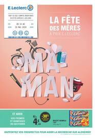 Catalogue E.Leclerc en cours, La fête des mères à prix E.Leclerc, Page 1