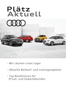 Audi, PLÄTZ AKTUELL - WIR RÄUMEN UNSER LAGER für Essen
