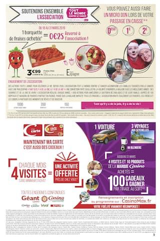 Catalogue Casino Supermarchés en cours, La semaine du bonheur, Page 3