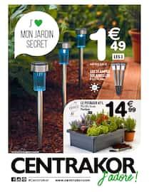 Catalogue Centrakor en cours, J'aime mon jardin secret, Page 1