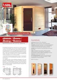 Aktueller BAUHAUS Prospekt, Saunen & Wärmekabinen, Seite 20