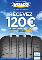 Catalogue Vulco en cours, Recevez jusqu'à 120€ en carte cadeau wedoogift, Page 1