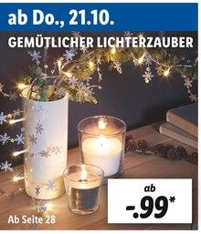 GEMÜTLICHER LICHTERZAUBER Angebot: Im aktuellen Prospekt bei Lidl in Aachen