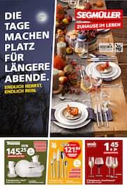 Aktueller Segmüller Prospekt, Segmüller - Endlich Herbst. Endlich rein., Seite 1