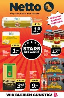 Bier im NETTO mit dem Scottie Prospekt Stars der Woche auf S. 0
