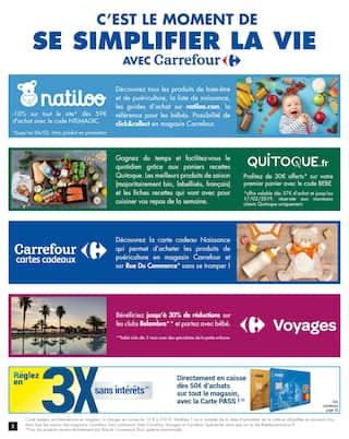 Catalogue Carrefour en cours, C'est la saison des Bébés, Page 2