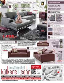 Aktueller külkens+sohn Polstermöbel Prospekt, Luxus, den man sich leisten kann, Seite 16