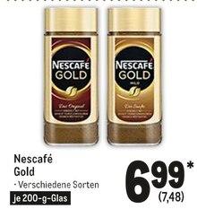 Kaffee von Nescafé Gold im aktuellen Metro Prospekt für 7.48€