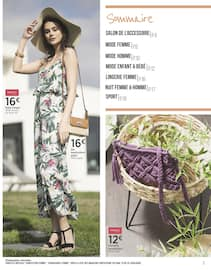 Catalogue Géant Casino en cours, Les Belles Inspirations Mode & Style, Page 3