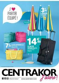 Catalogue Centrakor en cours, J'aime partir équipé !, Page 1