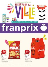 Catalogue Franprix en cours, Fleurs sur la ville, Page 1