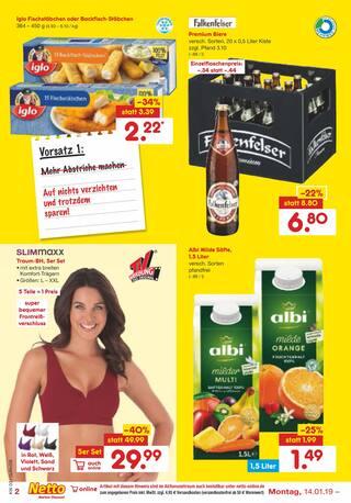 Aktueller Netto Marken-Discount Prospekt, Neues Jahr, neues Ich!, Seite 2