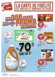 Catalogue Géant Casino en cours, Les 366 jours les + promo de France, Page 2