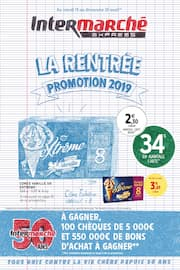Catalogue Intermarché en cours, La rentrée promotion 2019, Page 1