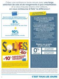 Catalogue Castorama en cours, Solutions déco & rangements, prix imbattables !, Page 2